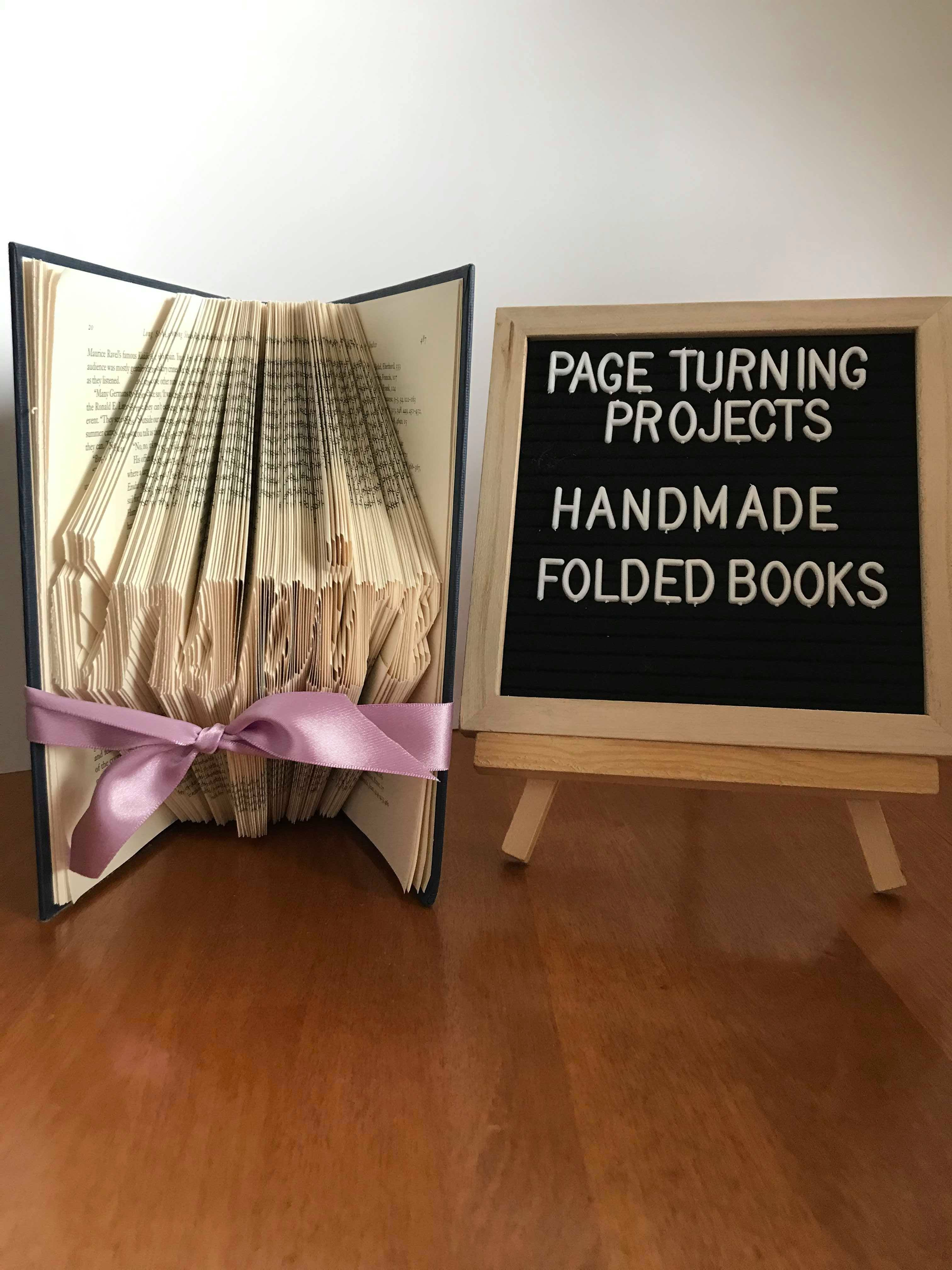 Check us out on tiktok in 2020 book folding diy crafts