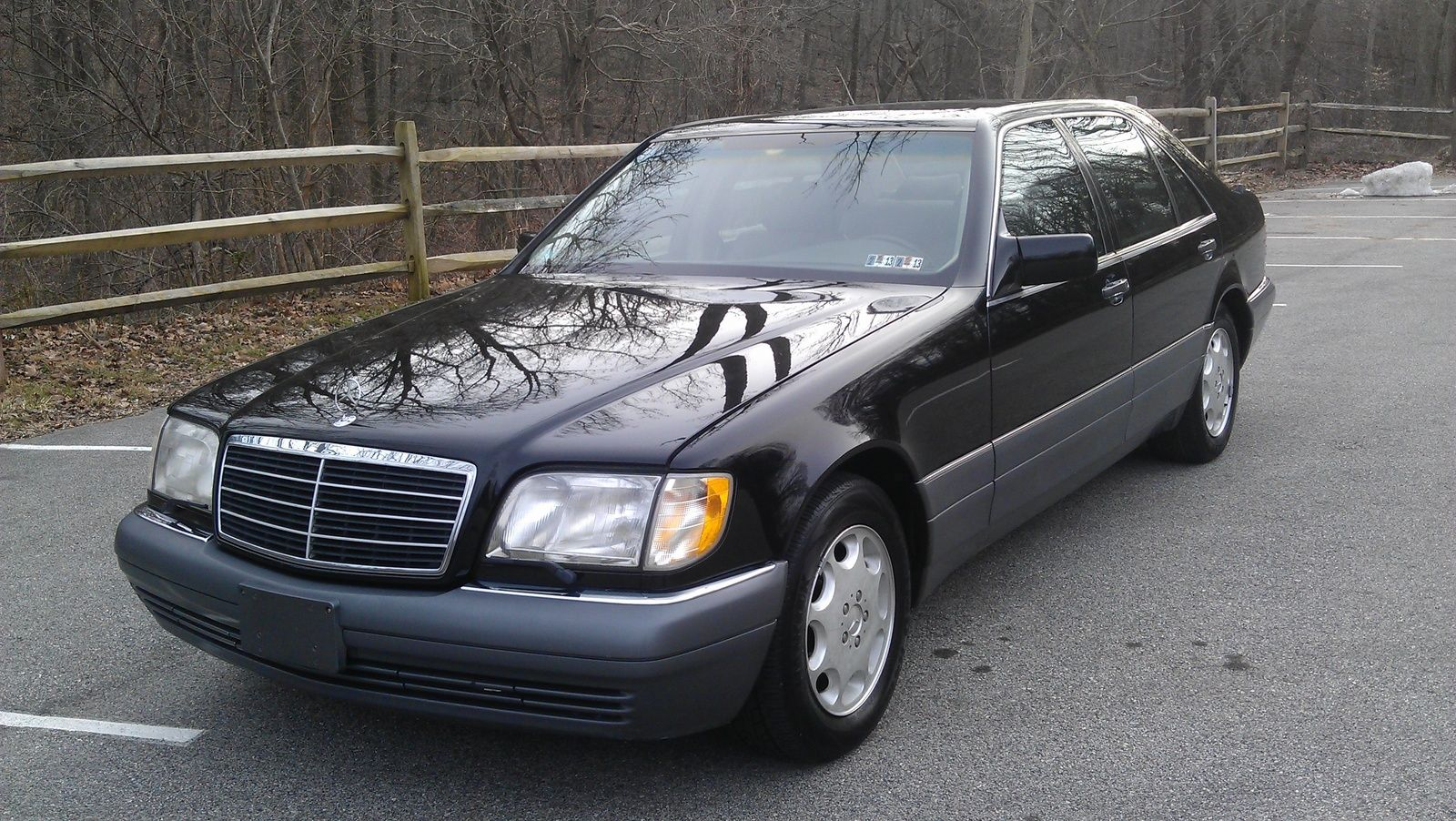 small resolution of 1995 mercedes benz s class 4 dr s420 sedan