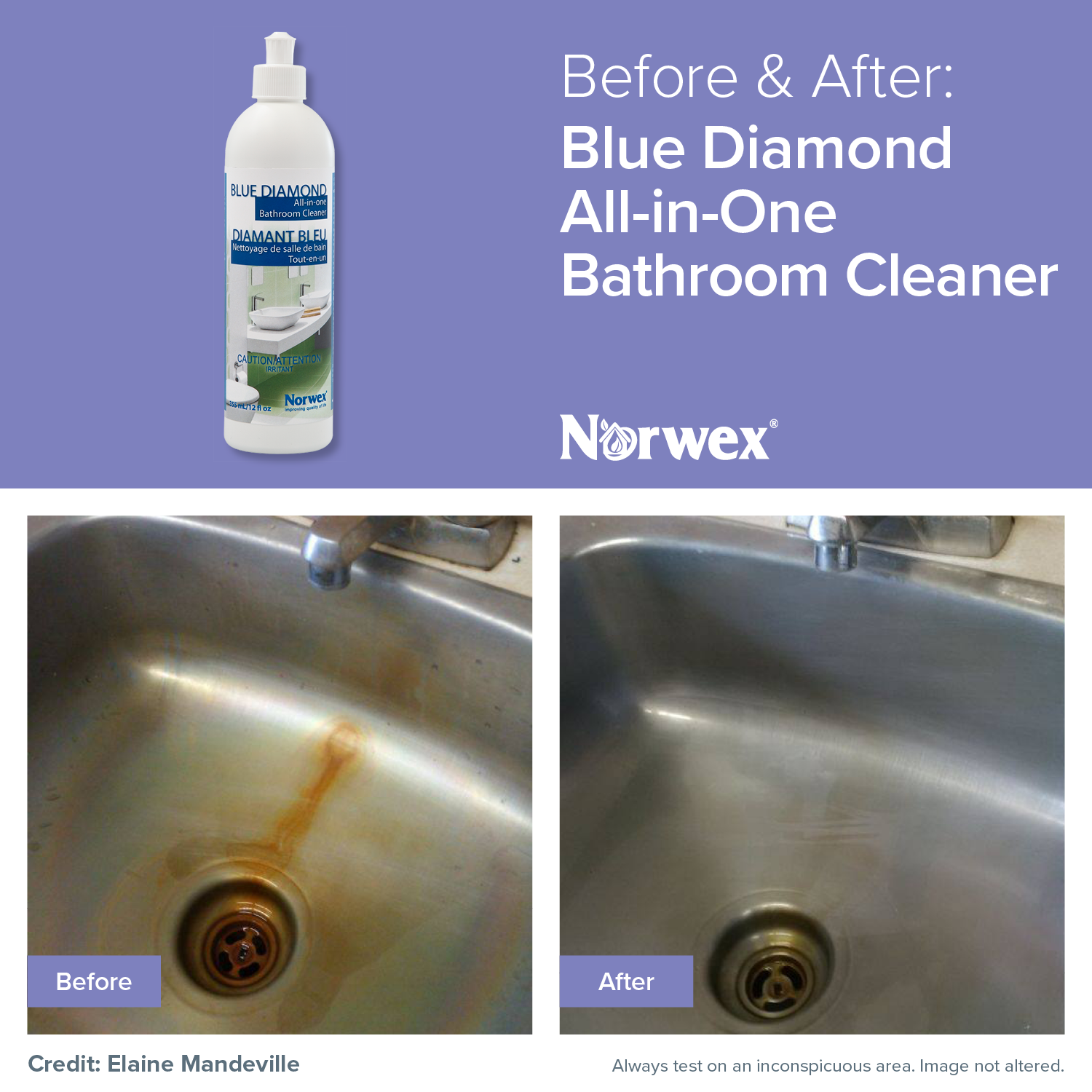 Remove hard water deposits, rust, soap scum, and more on your ...