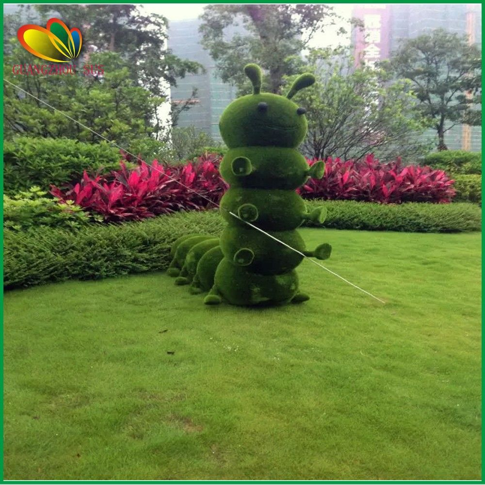 Cinese 2015 Più Caldo Erba Artificiale Paesaggio Topiaria Animali ...