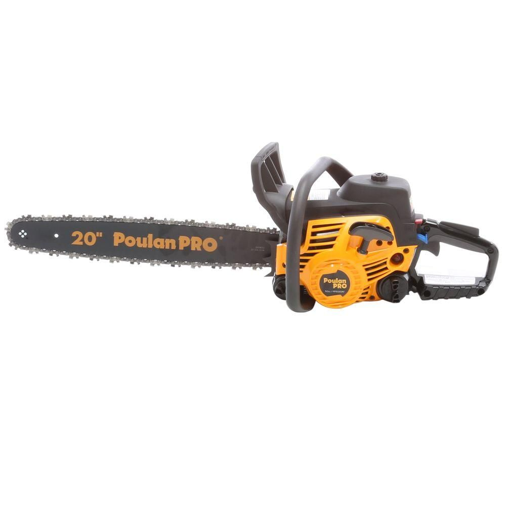 Poulan Pro 20 In 50cc Gas Chainsaw Products Gas Chainsaw