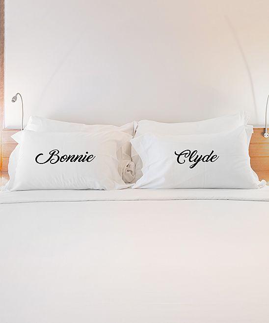 Slip Pillowcase Review Bonnie' & 'clyde' Pillowcase  Set Of Two  Pinterest  Bonnie Clyde