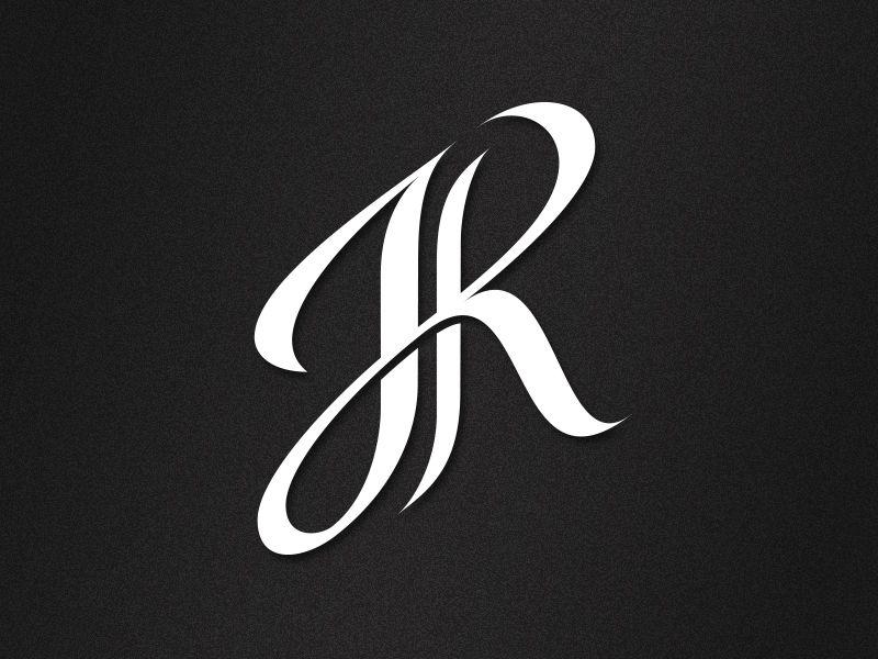 jr monogram monograms logos and typography. Black Bedroom Furniture Sets. Home Design Ideas