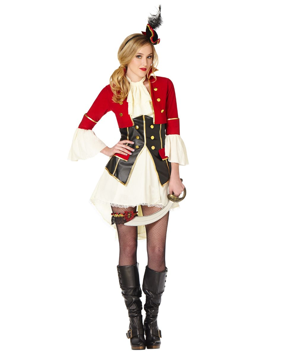 Pirate Captain Womens Costume u2013 Spirit Halloween  sc 1 st  Pinterest & Pirate Captain Womens Costume u2013 Spirit Halloween | All Hallows Eve ...