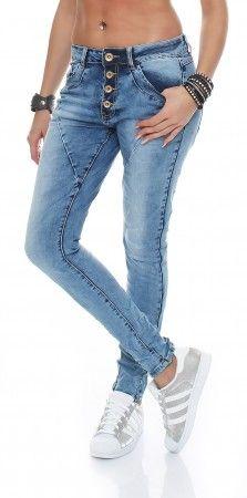 skutari luxuri se damen jeans stretch baggy loose fit. Black Bedroom Furniture Sets. Home Design Ideas
