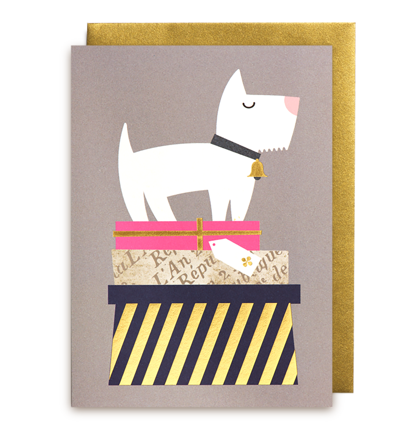 Dogs u gifts greeting card lagom design dog and envelopes