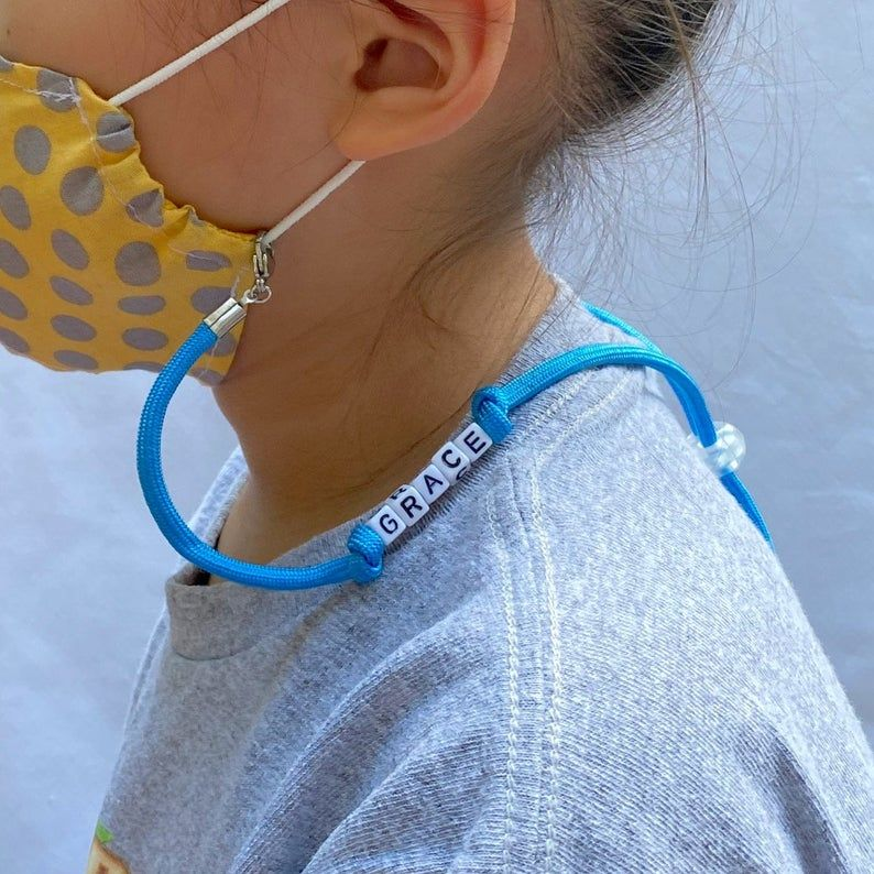 Colorful Personalized Adjustable mask lanyard/strap/holder