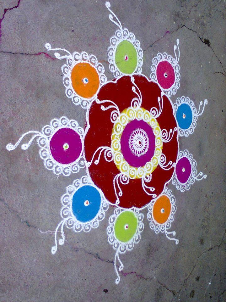 Sanskar Bharti Rangoli art Sanskar Bharti Rangoli