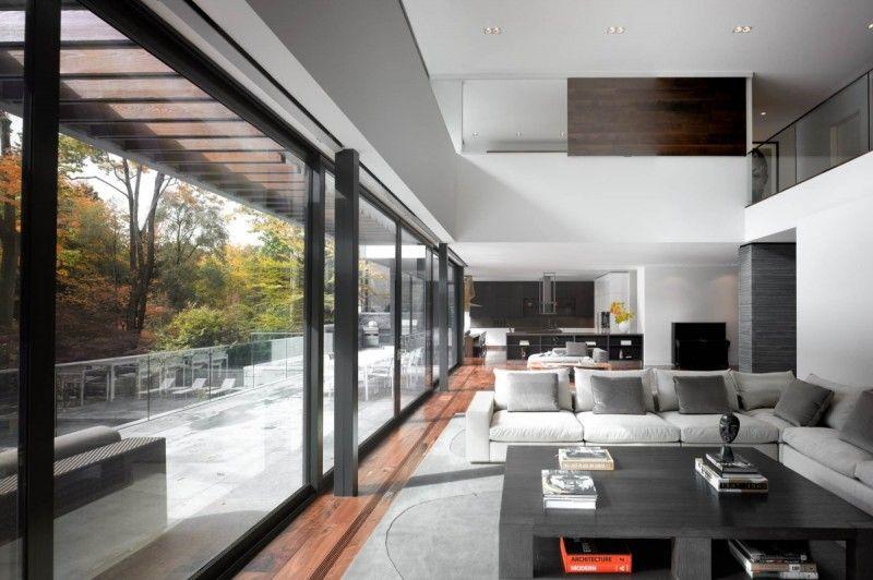 toronto residence by belzberg architects modern designs house rh pinterest com