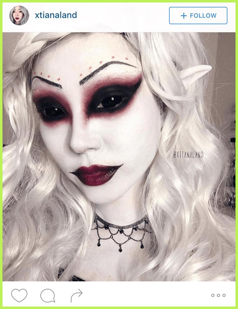 The Best Halloween Makeup on Instagram Costume Makeup