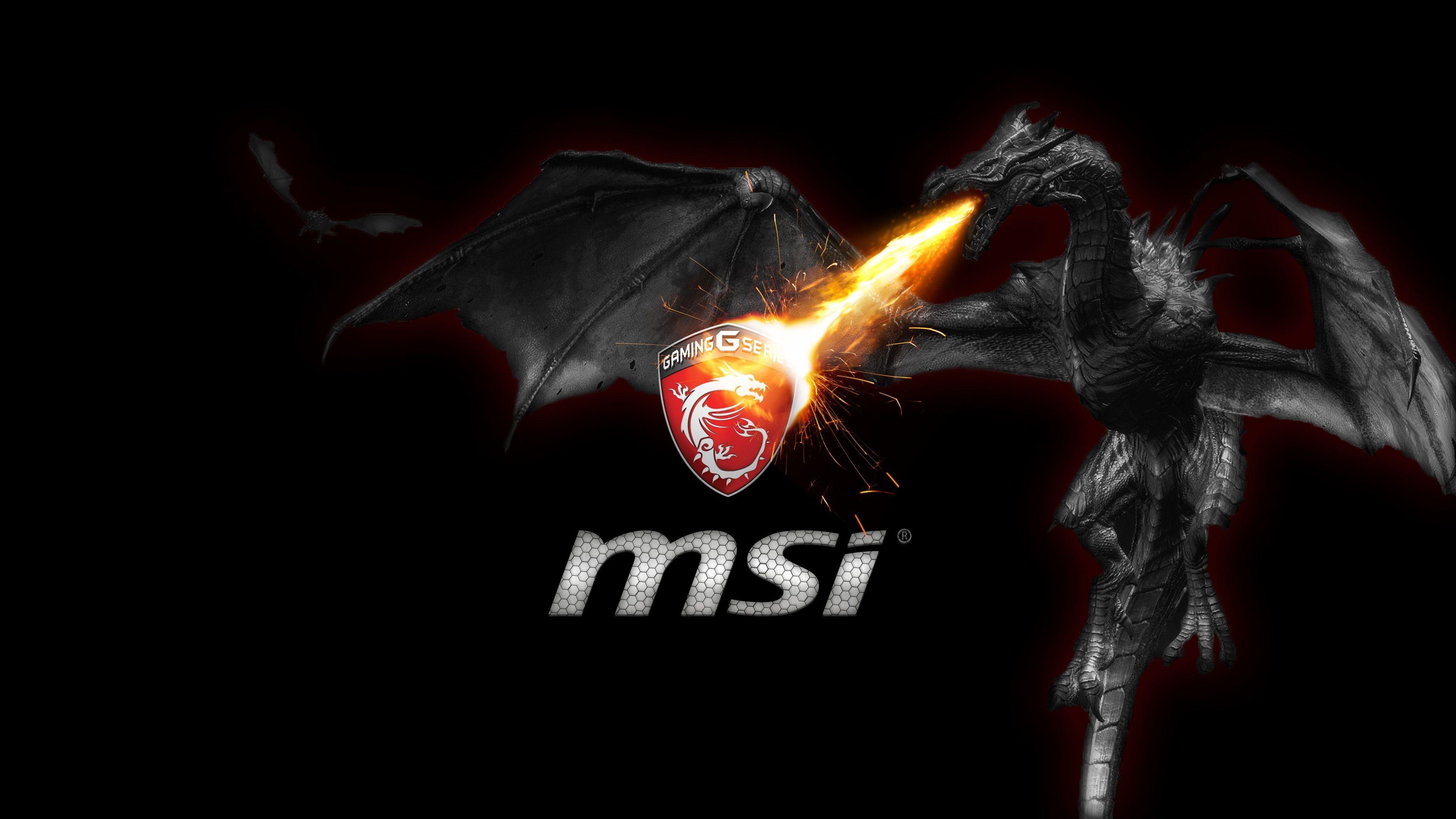 3840x2160 Msi 4k Wallpaper For Desktop Msi Msi Logo Desktop Wallpaper