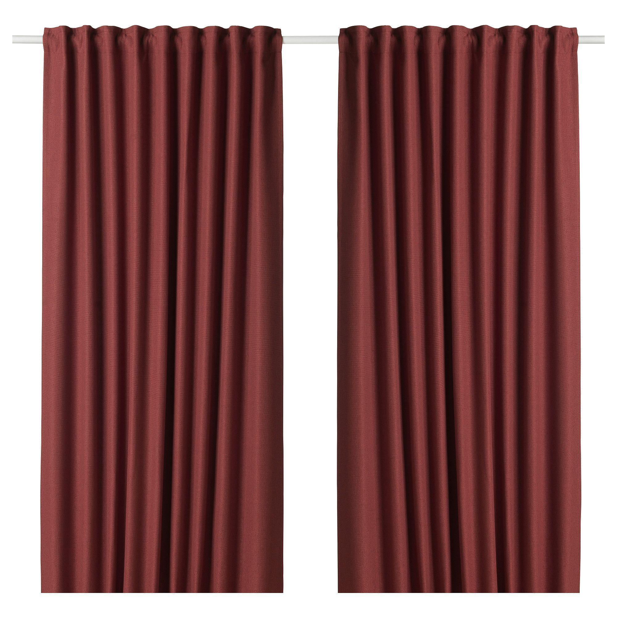 ANNAKAJSA Blackout Curtains 1 Pair
