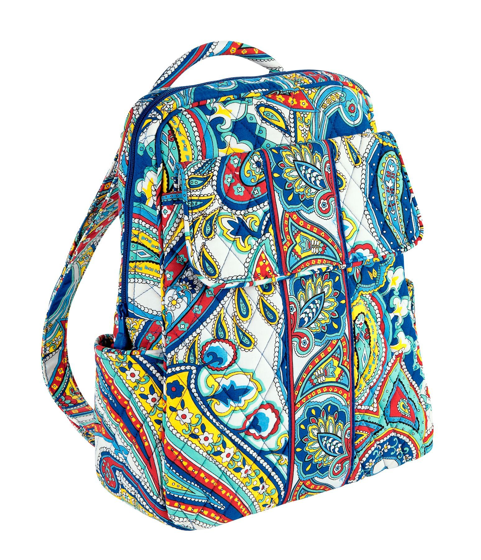 Vera Bradley Backpack in Marina Paisley. Perfect for an island trip...