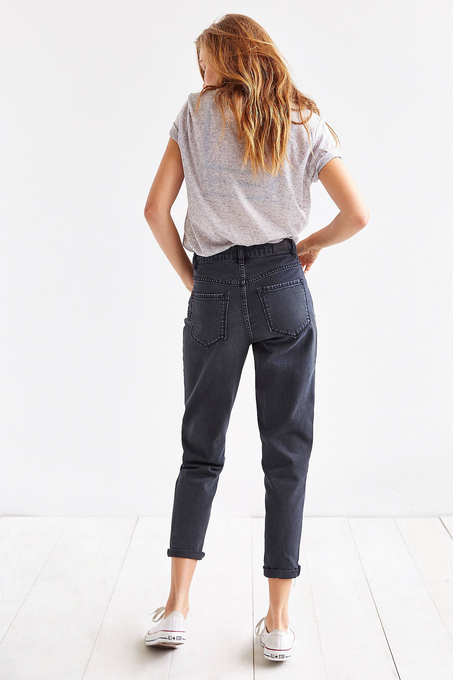 d34919a0f6 Shop BDG Mom Jean - Black at Urban Outfitters today. We carry all the  latest styles, colors and brands for you to choose from right here.
