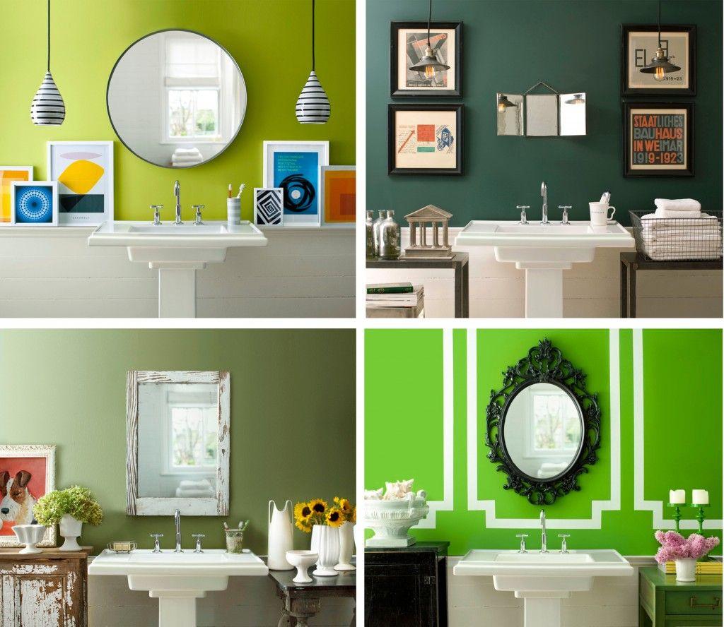 Photo Image Paint Color Schemes For Bathrooms Decobizz