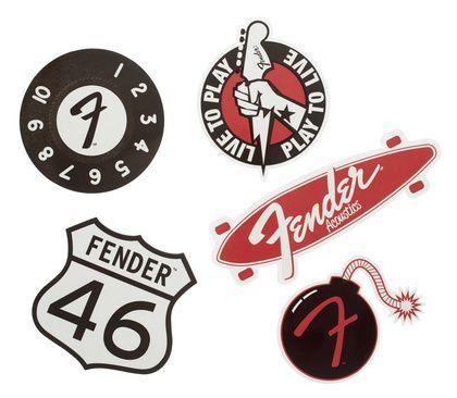 Fender sticker