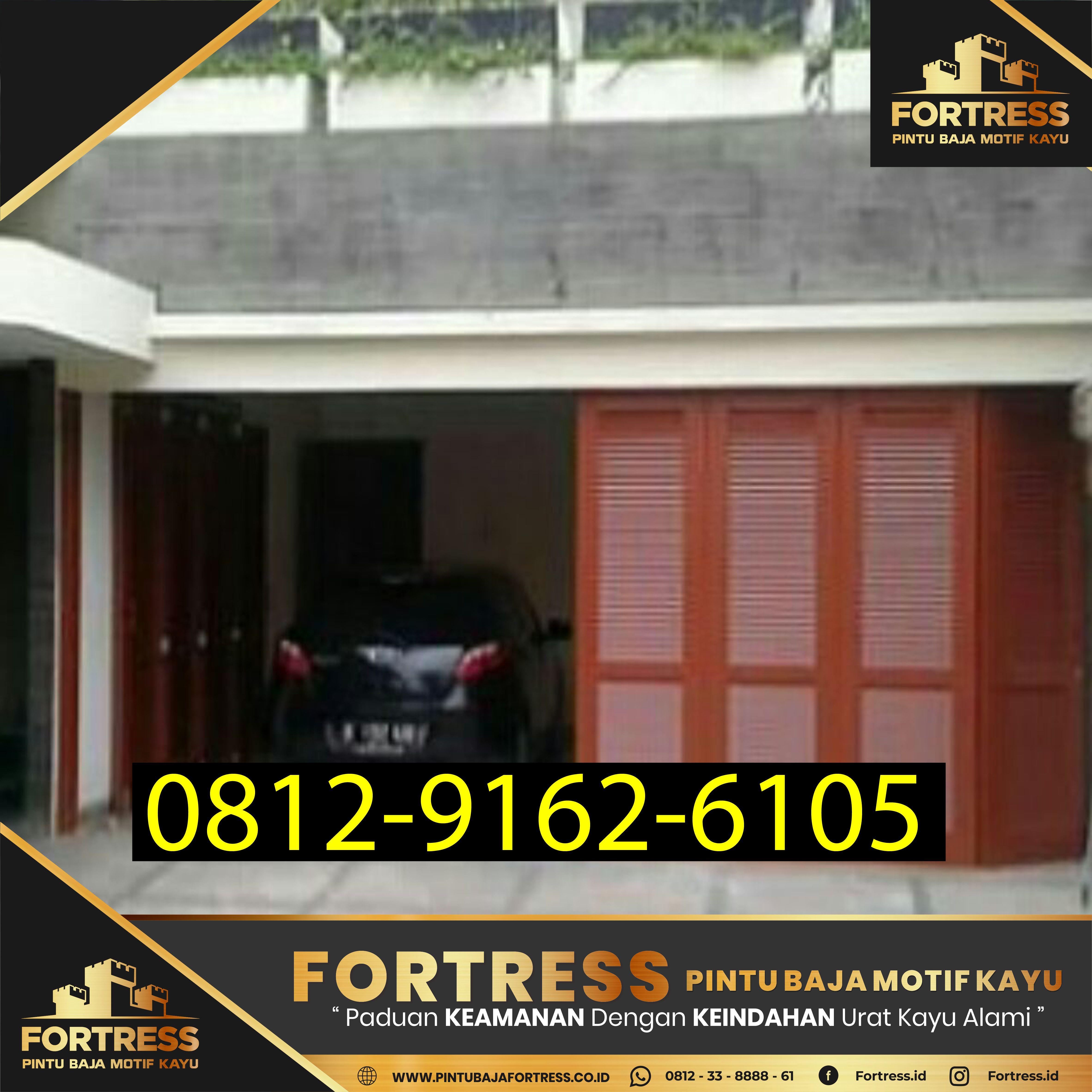 Fortress 0812 9162 6105 Pintu Garasi Minimalis Terbaru Depok Pintu Garasi Pintu Garasi
