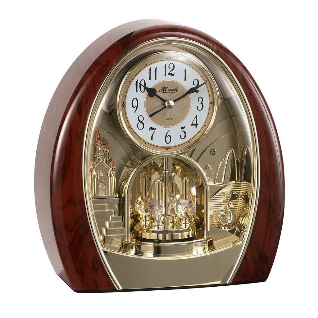 Hermle Jessica Quartz Musical Motion Table Clock 62001 Clock
