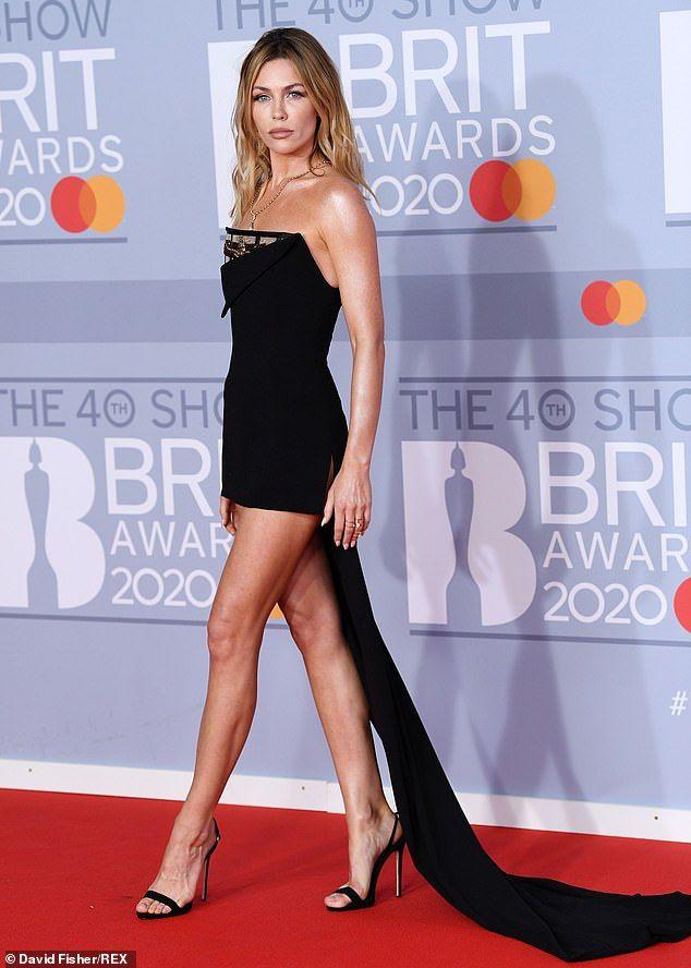 Mel B looks sensational in the worlds most daring dress
