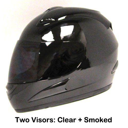 Motorcycle Street Bike Glossy Black Full Face Helmet + Two Visors: Smoked & Clear Power Gear Motorsports,http://www.amazon.com/dp/B00B29XAO6/ref=cm_sw_r_pi_dp_D3LCtb0WH25Y4EG8