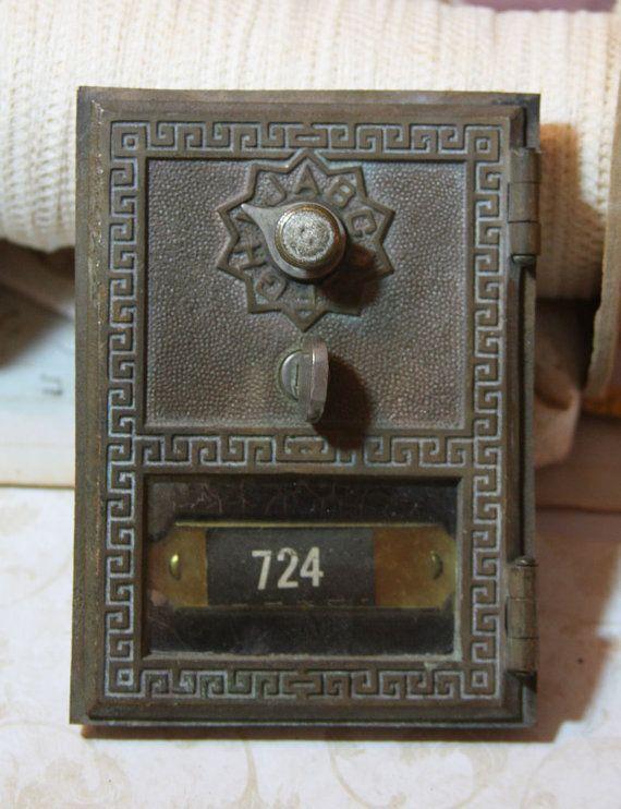 Vintage POST OFFICE Box Door for Mixed Media by VintageSupplyCo, $18.99 - Vintage POST OFFICE Box Door For Mixed Media By VintageSupplyCo
