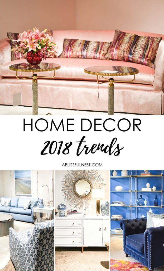 Top Home Design Trends for 2018 from