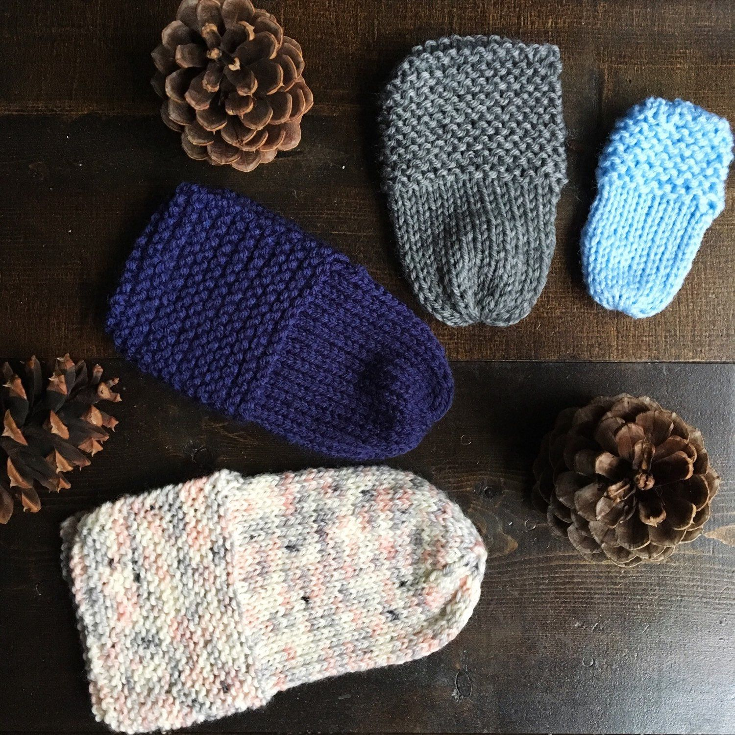New pattern release! Vintage slippers are now available in 5 sizes ...