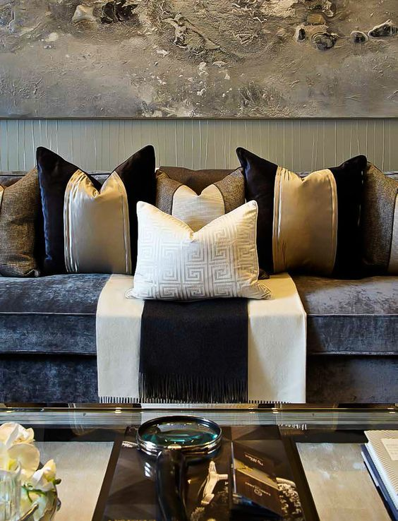 Pin by Jacky Han on 抱枕搭配 in 2018 Pinterest Hogar, Decoración - Como Decorar Mi Casa