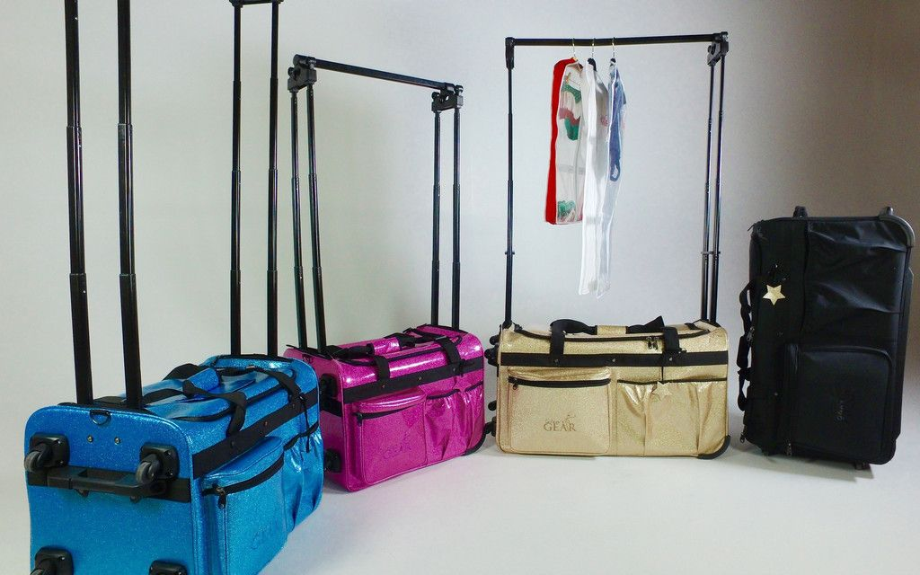 Changing Station Dance Bag W Uhide Curtain