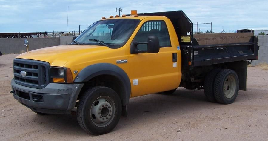 2006 Ford F450 Dump Truck 104 000 Miles For Sale In Phoenix