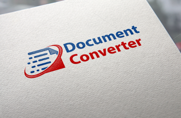 Document Converter Logo by REDVY on Creative Mar… Logos