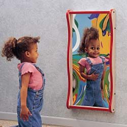 Pediatric eye Exam Room Furniture | Giant Giggle Mirror - Waiting Room from SmileMakers
