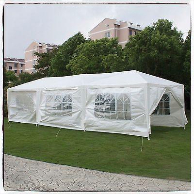 tent party gazebo canopy tents white sidewalls awnings wedding rh pinterest com