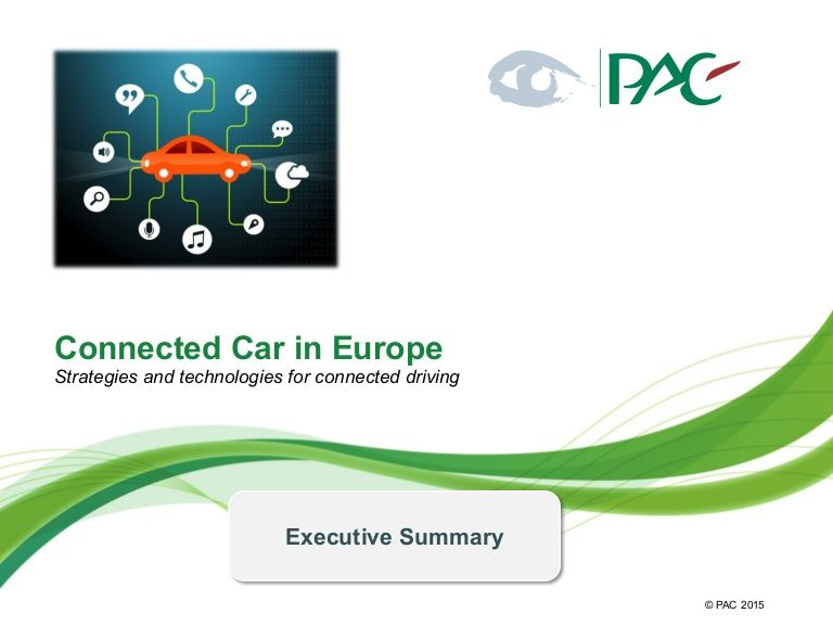 With the connected car topic the automotive industry is