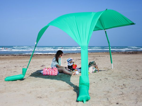 Better Than A Beach Umbrella Is The Sun Sail Cabana Shade