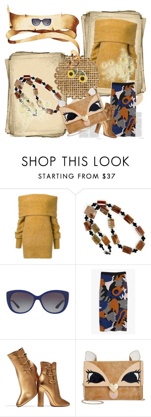 """""""autumn all you are"""" by pinaradesign ❤ liked on Polyvore featuring Bulgari, Monki, Gianvito Rossi and Betsey Johnson"""