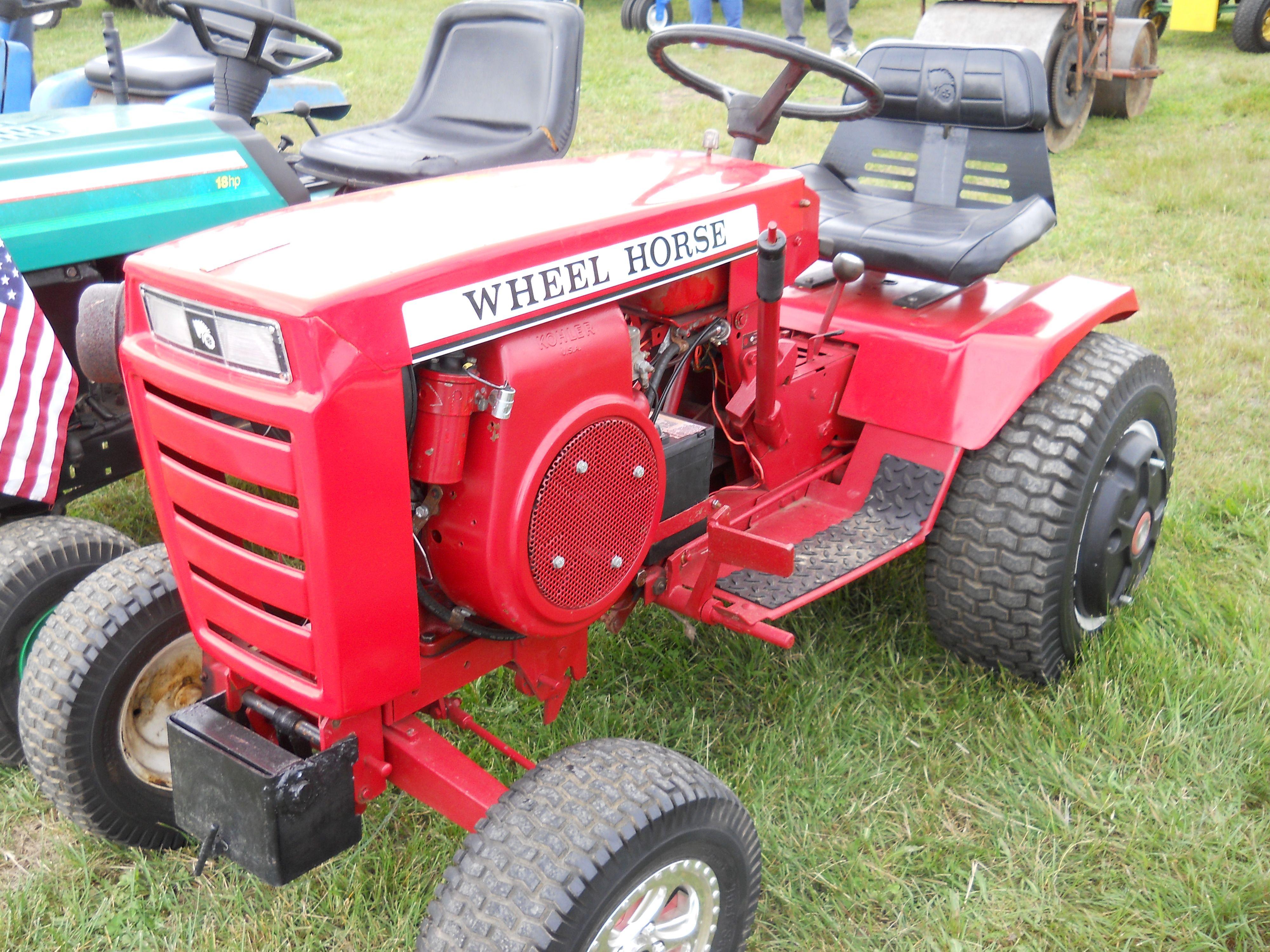 Mini Wheel Horse Tractor : Little wheel horse tractor https youtube user