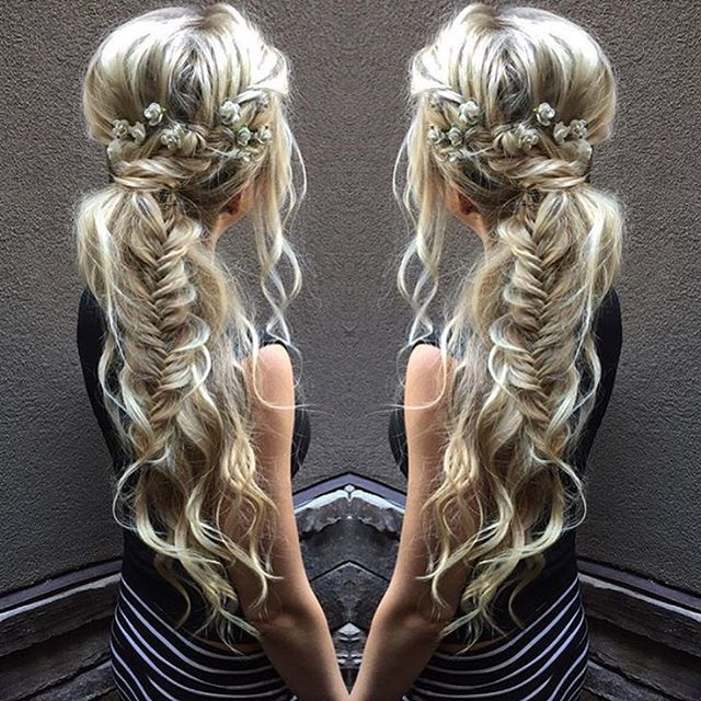 Wedding Side Ponytail Hairstyles: Swoon: Magic Pony By @maggiehancock