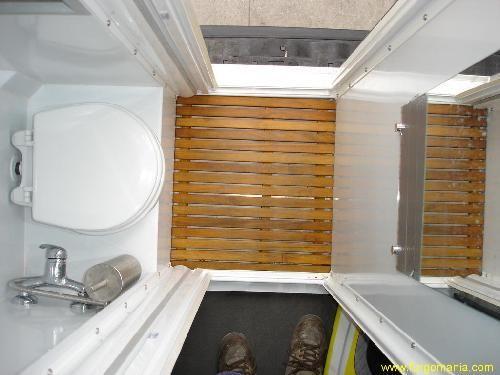 Kit autoinstalable para convertir tu furgo en una - Convertir banera en ducha ...