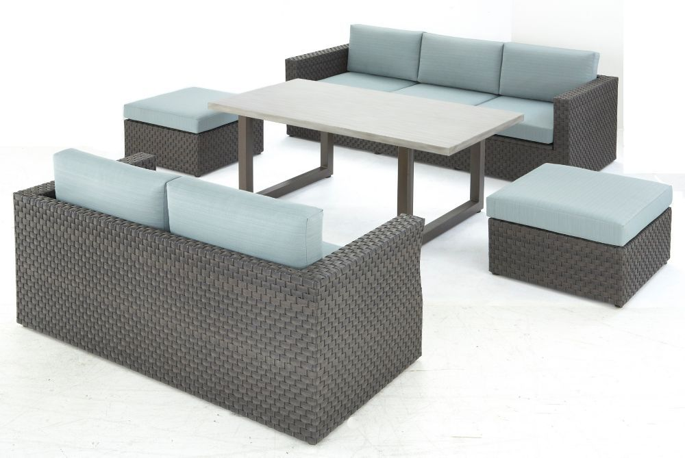love this patio set 5 piece machesney park woven chat set 1498 at rh pinterest com