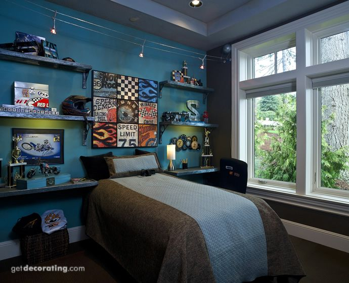 Color and style good for a 10 year old. | Kids rooms ...