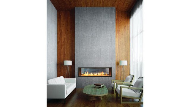 Town  Country Luxury Fireplaces transforms two spaces at once with