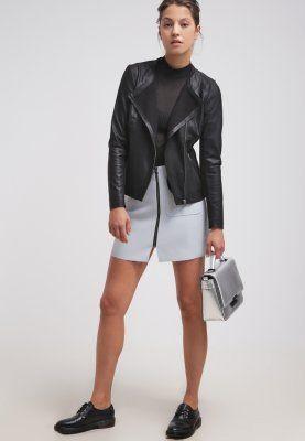 Selected Femme - SFLILLIE  - Leren jas - black