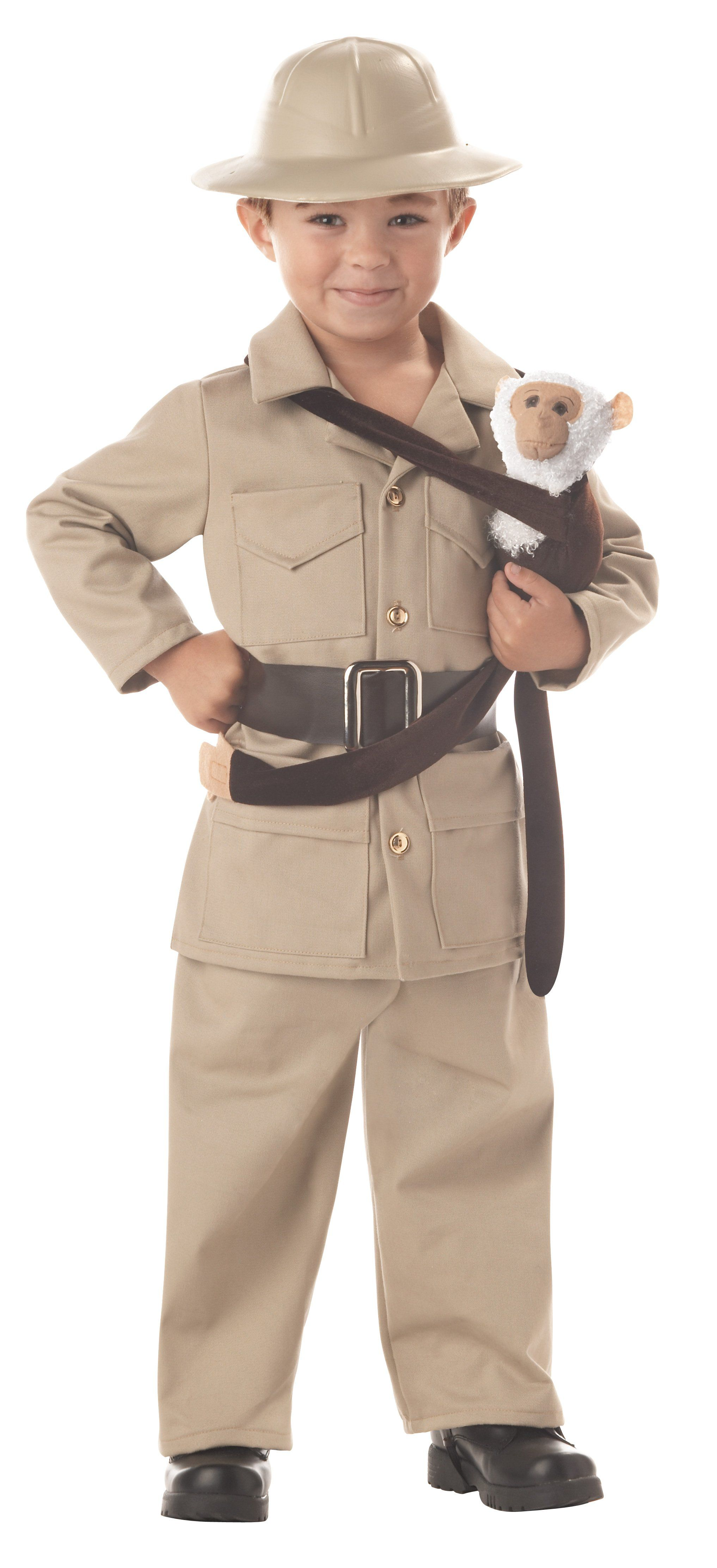 Kids Halloween Costume Wild Life  Zoo Keeper Expert Archaeologist Park Ranger