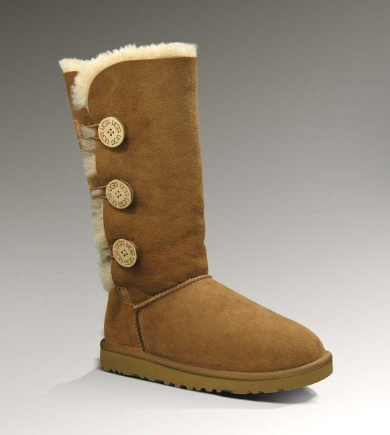 fba9d4615d2 Women's Bailey Button Triplet | shoes | Fashion, Uggs, Ugg bailey button