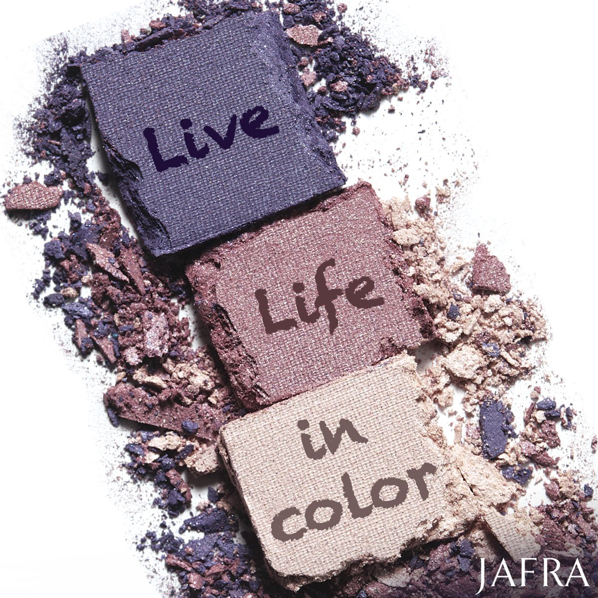 Express Yourself With Makeup Live Life In Color Royal Jelly Skin Jafra Cosmetics Makeup Color Cosmetics