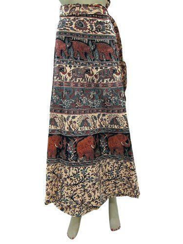 Skirt Sarong Indie Grey Beige Elephant Print Long Wrap Around Skirts Mogul Interior,http://www.amazon.com/dp/B00HXAICC8/ref=cm_sw_r_pi_dp_sgX2sb0PYFKZB7JB