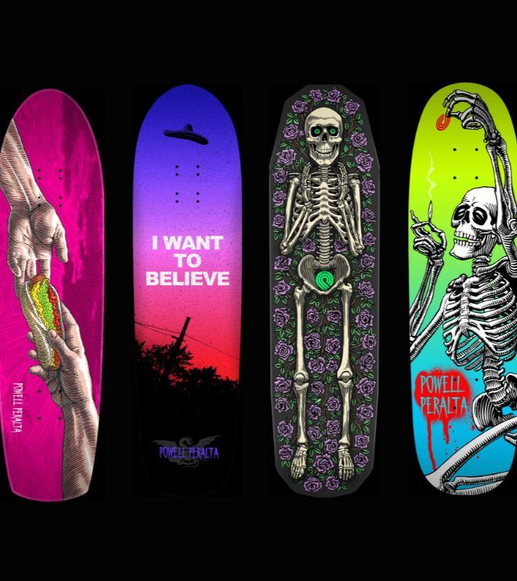 Powell Peralta Funshape Skateboards In 2020 Skateboard Decks Classic Skateboard Skateboard