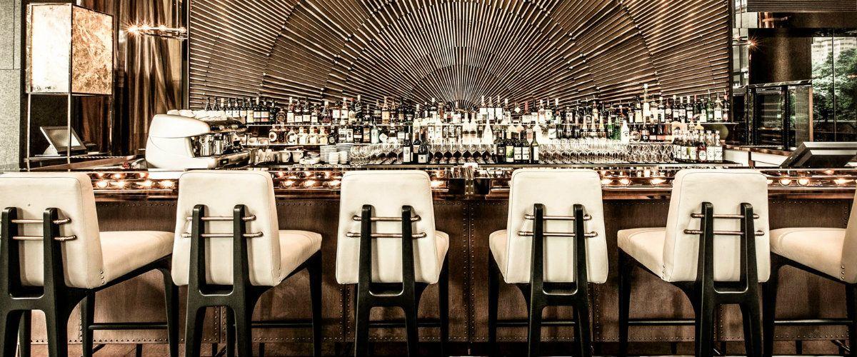 Contemporary Bar Stools You Can Get From Restaurant Interiors Med Billeder