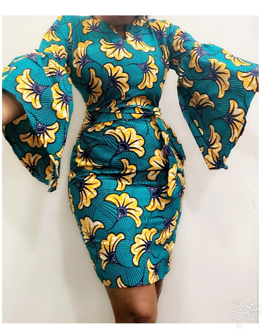 "Pamdee_fashion on Instagram: ""Sold out"" #africanprintdresses"